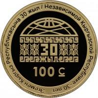 «Эгемен Кыргыз Республикасына 30 жыл»